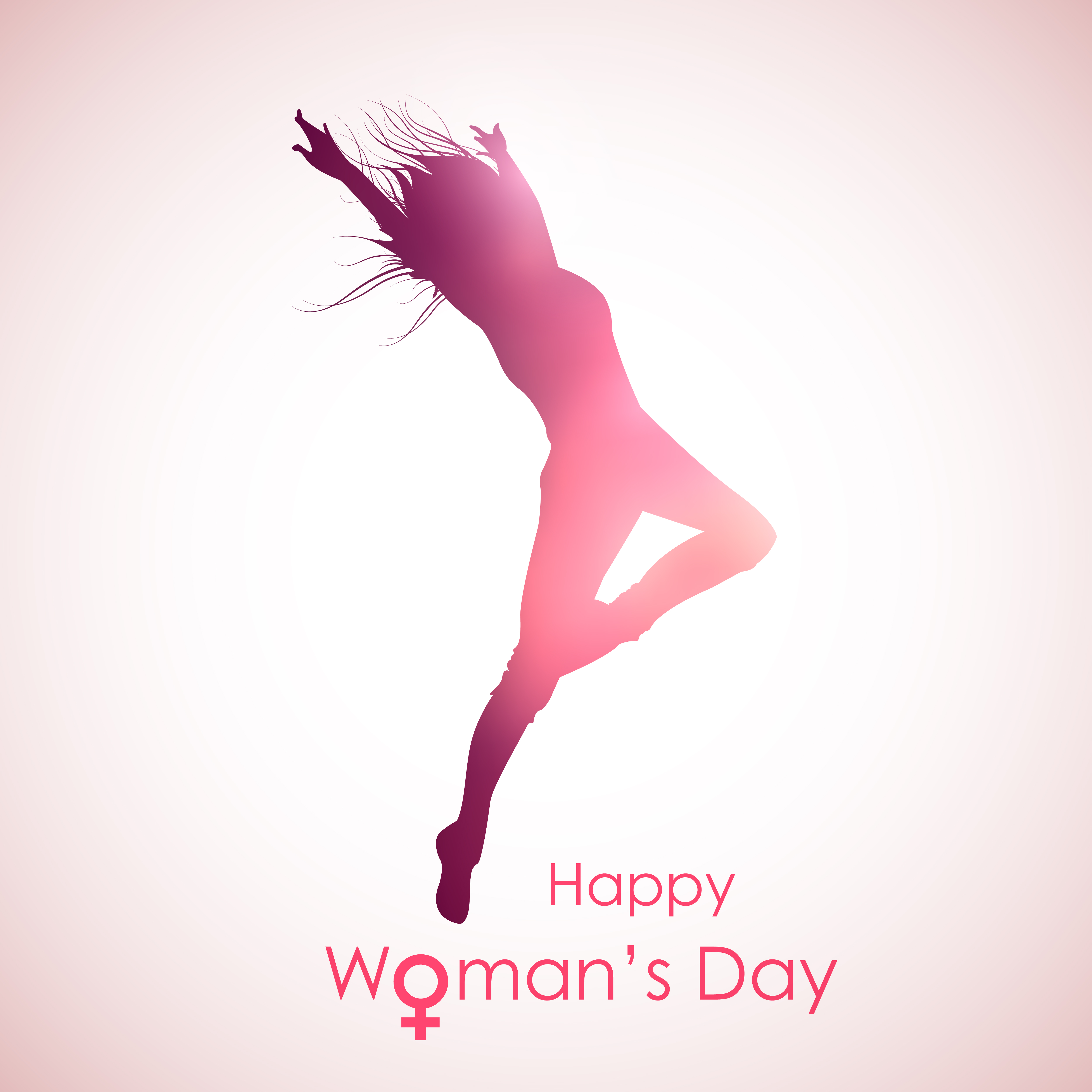 illustration of Happy Woman's Day concept